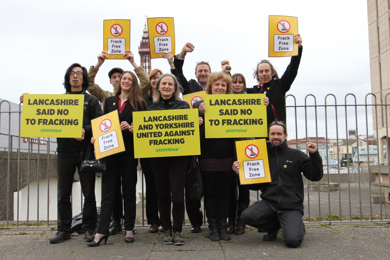 Volunteers protesting against fracking are found not guilty