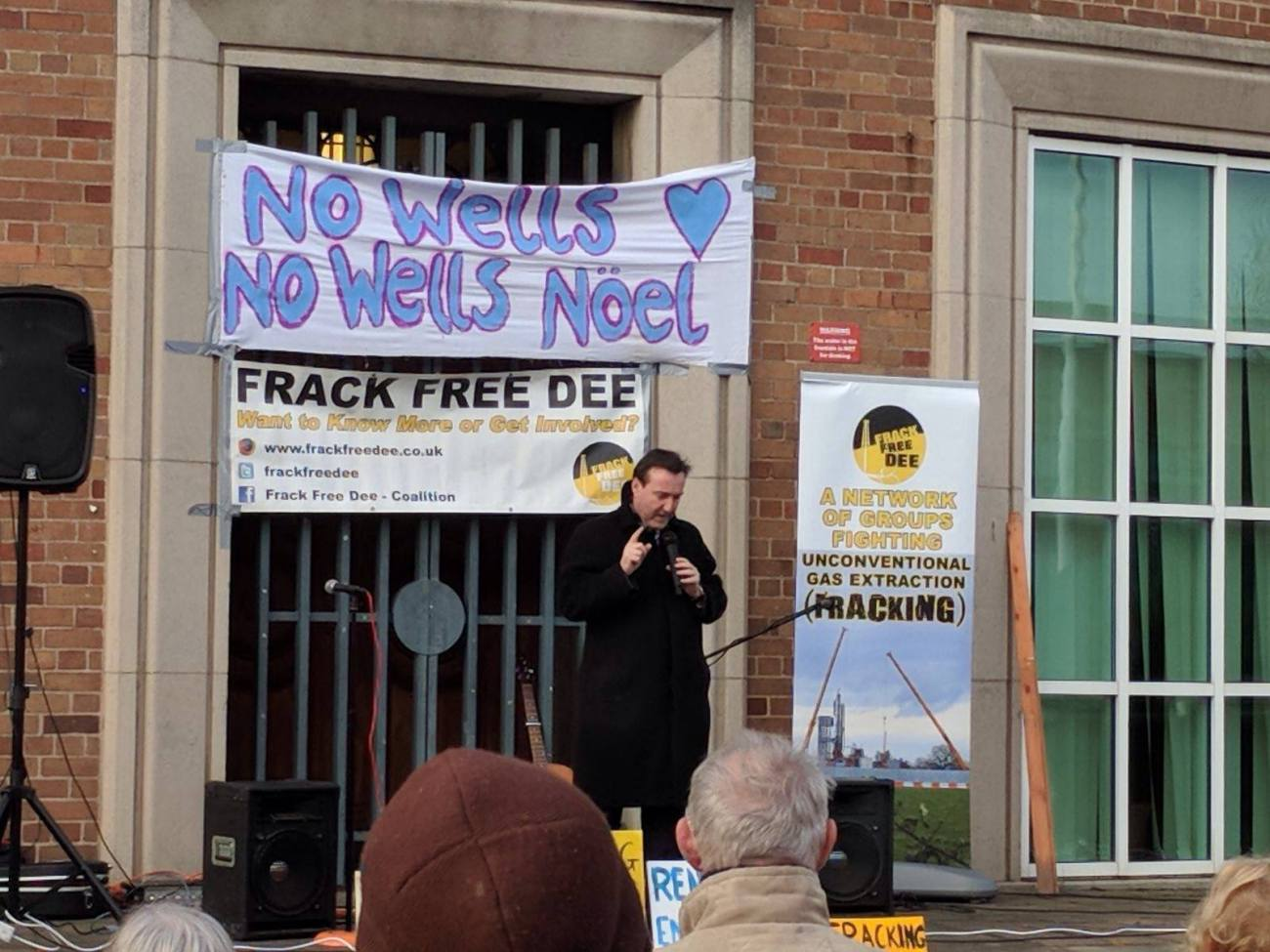 171118 Ellesmere Port Chris Matheson Frack Free Dee