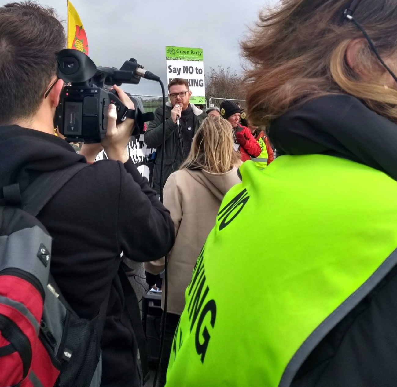 171120 PNR protest report launch Frack Free Lancashire4