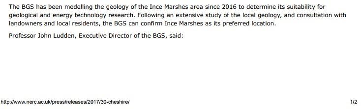 BGS press release 1