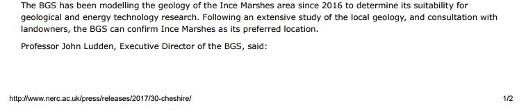 BGS press release 2