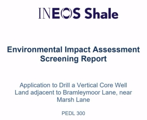 EIA screening report Bramleymoor Lane