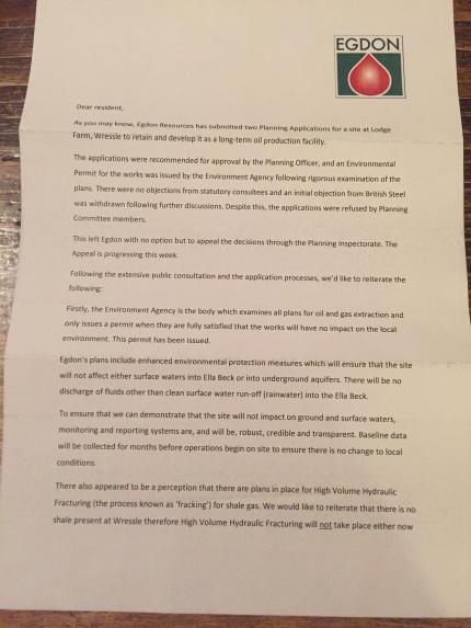 Letter from Egdon 1711113