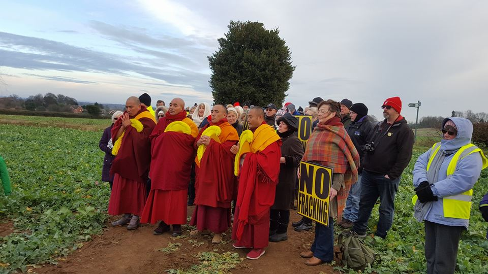 171209 Monks blessing at Woodsetts Steve Bramley