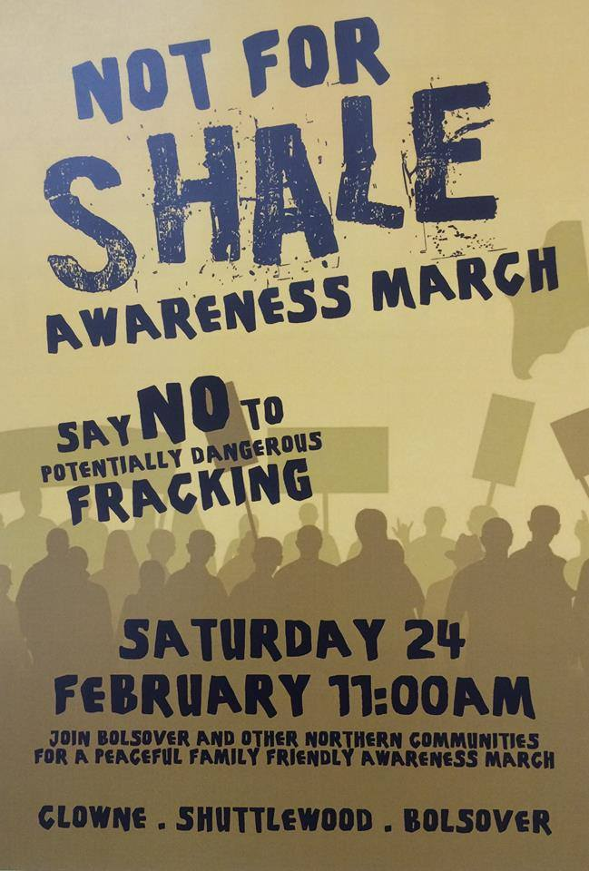 180224 Not for Shale awareness march