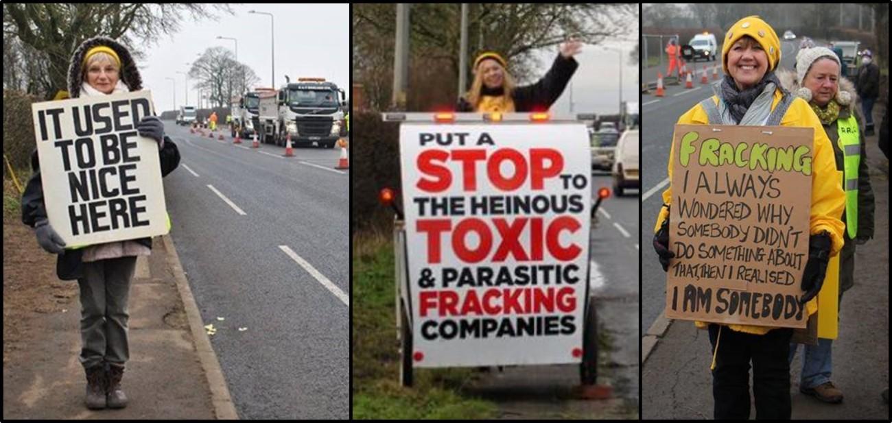 Protestors comp