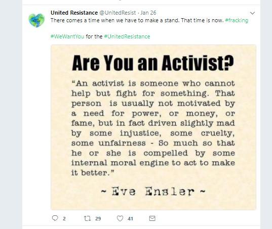 180126 United Resistance tweet