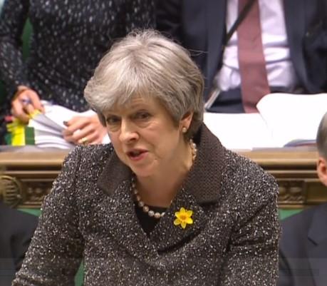 Theresa May 180228 Parliament TV