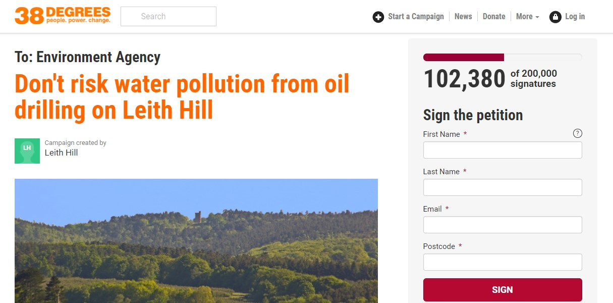 180313 petition Leith Hill