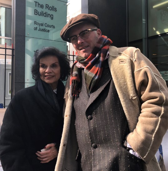 180319 UKOG injunction Bianca Jagger and Joe Corre