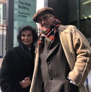 180319 UKOG injunction Bianca Jagger and Joe Corre