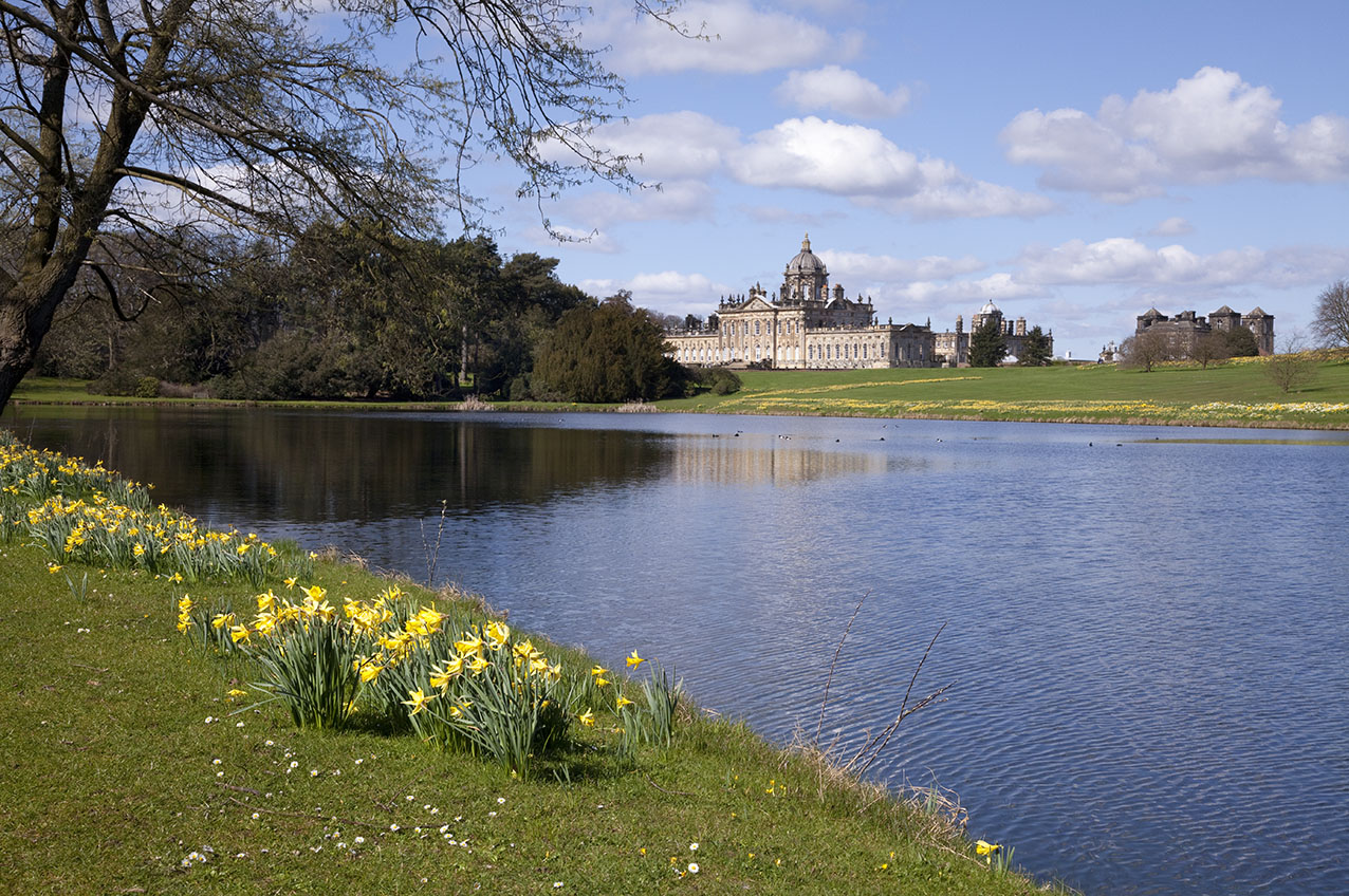 Castle Howard south lakeNorth Yorkshire