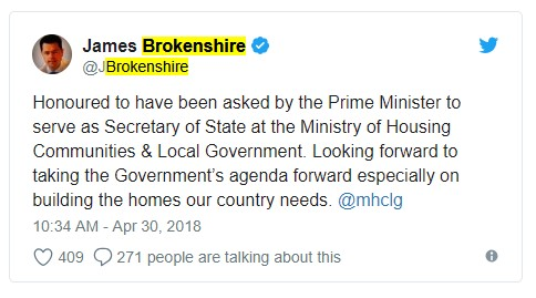 180430 James Brokenshire tweet