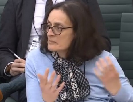 180430 select committee kate gordon