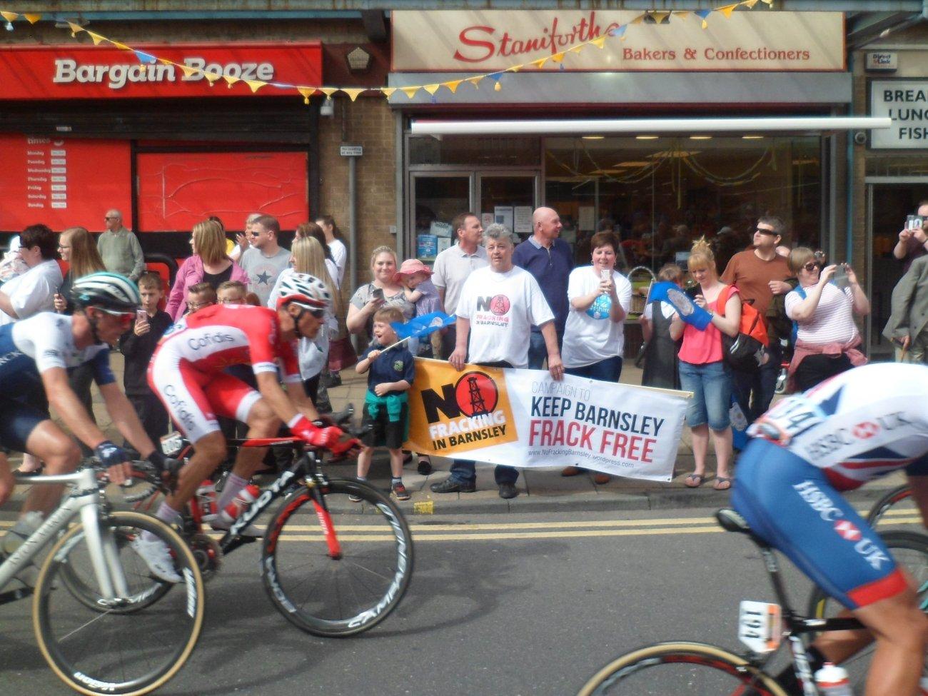 180507 Tour de Yorkshire Barnsley Stephen Bacon