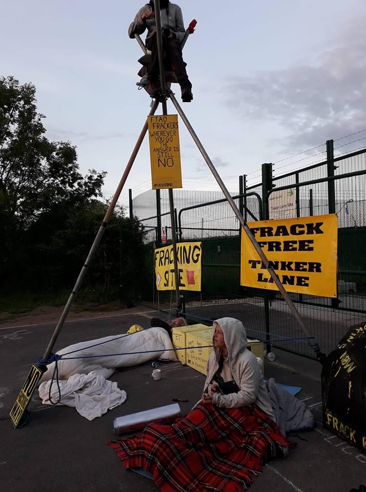 180611 Tinker Lane blockade Simone Lister