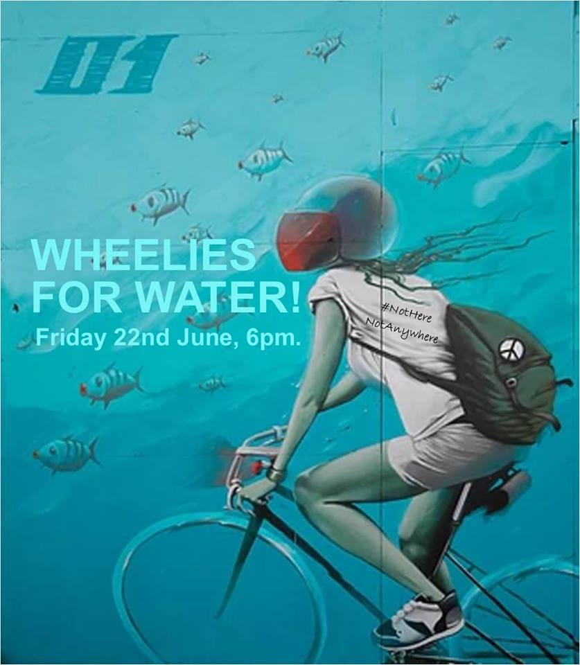 180622 Wheelies for Water event