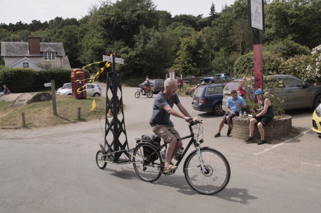 Tour de Frack in Coldharbour, 23 June 2018. Photo: Dan Harvey