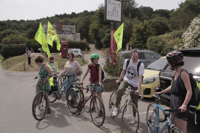 Tour de Frack in Coldharbour, 23 June 2018. Photo: Dan Harvey