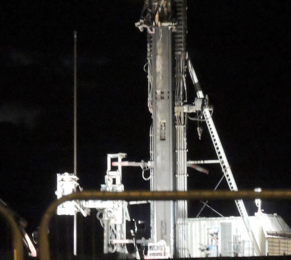 Cuadrilla's shale gas site at Preston New Road, near Blackpool, 19 June 2018. Photo: Ros Wills