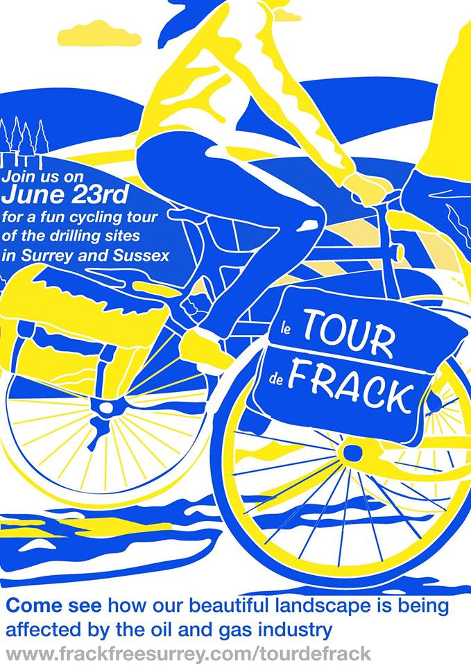 Tour de frack Sussex and Surrey