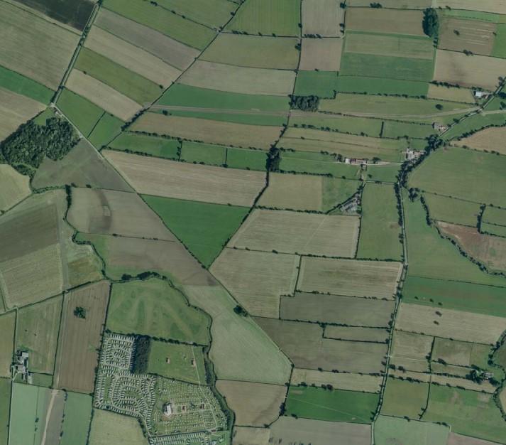 1807 aerial photo of pipeline