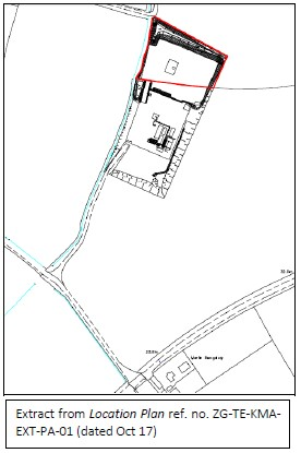 "Third Enegry ""red line boundary"" plan of Kirby Misperton 1/3 sites not showing connection to the road"