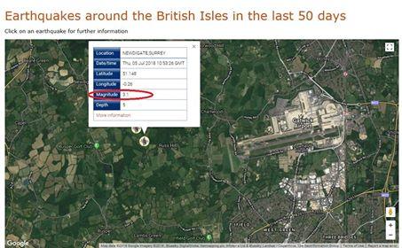 180705 earthquake map