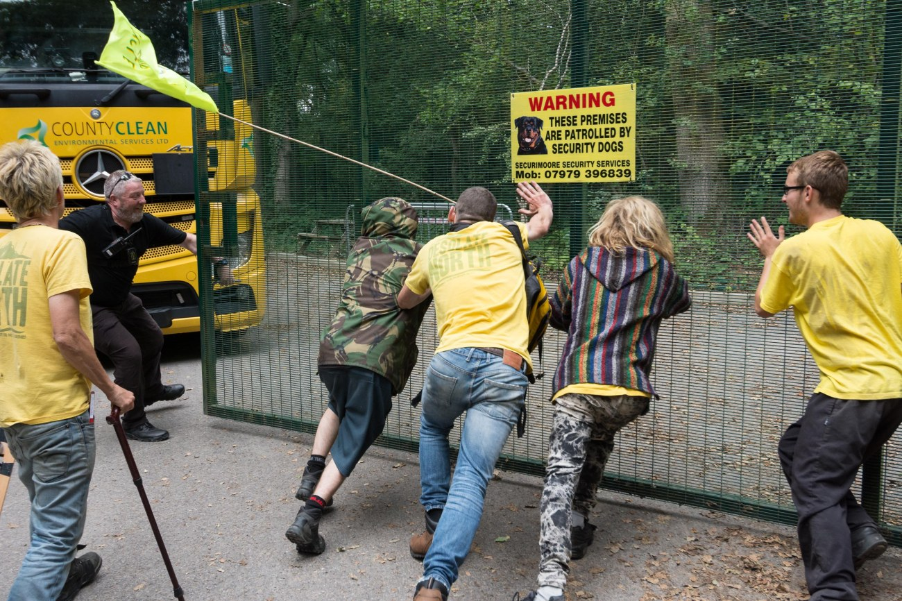 Horse Hill oil site blockaded by protesters