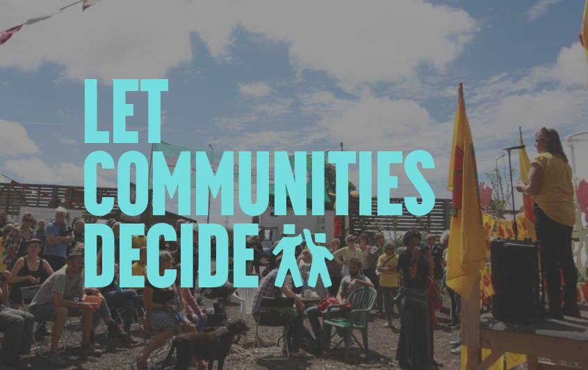 180822 Let communities decide