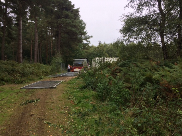 180911 Leith Hill fencing removed UWOC4