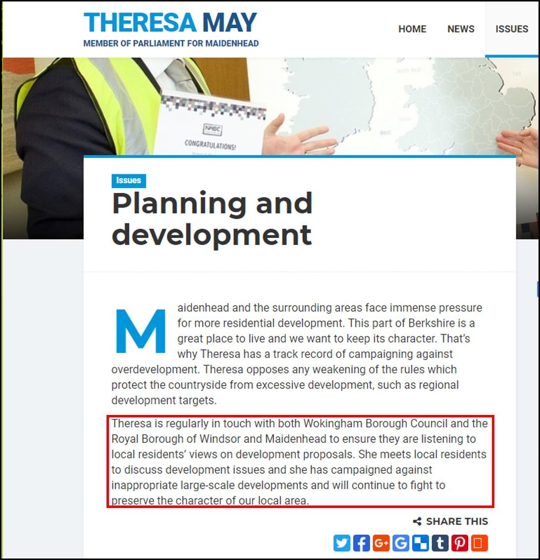 180913 Theresa May on localism