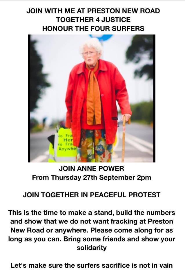 180927 Preston New Road protest