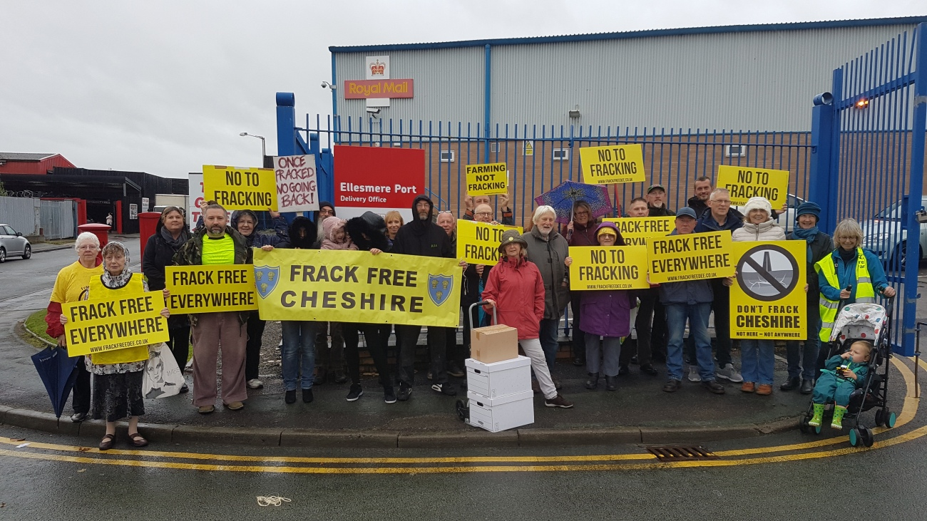 181012 Ellesmere Port papers Frack Free Upton