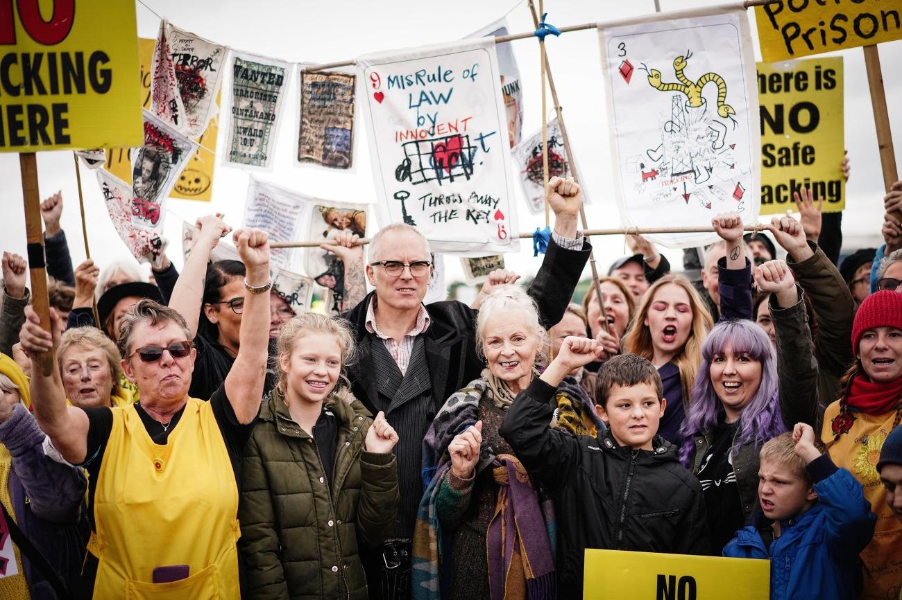Anti Fracking Protest