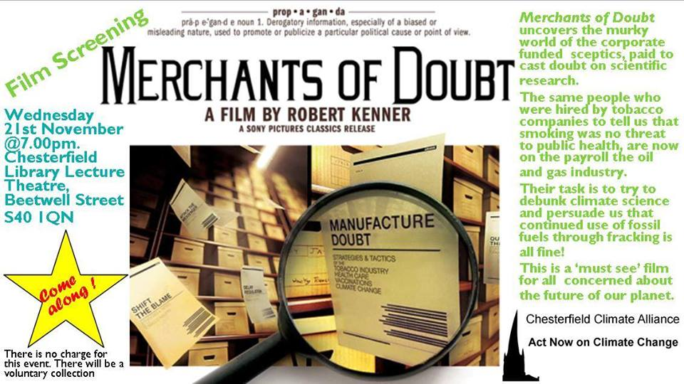 181121 Merchants of Doubt