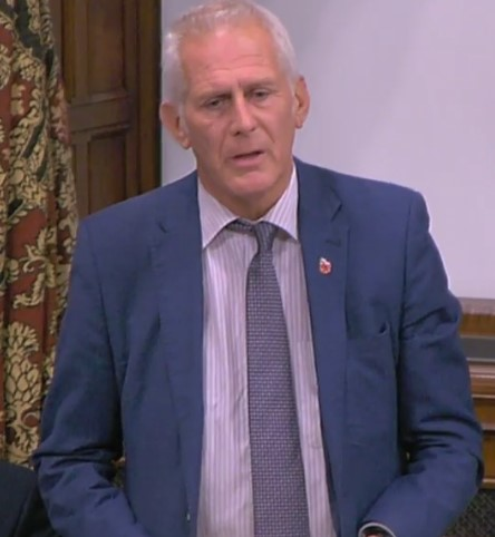 Gordon Marsden MP, 31 October 2018. Photo: Parliamentlive.tv