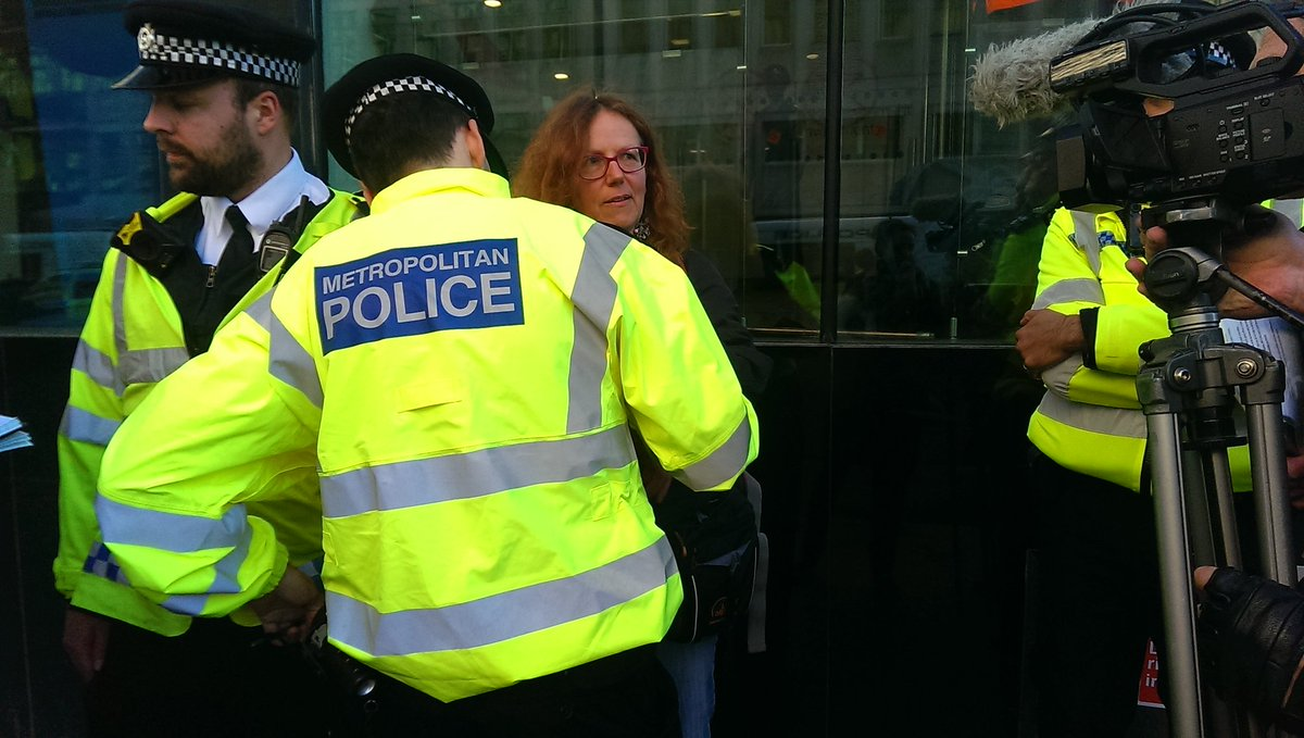 181112 BEIS protest Ruth Jarman CCA2
