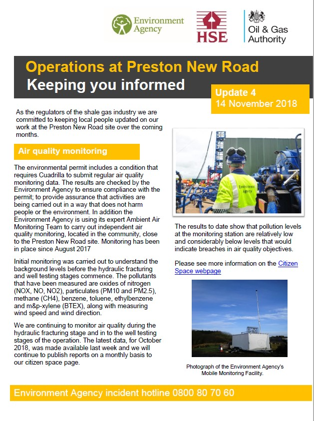 181114 pnr regulators newsletter