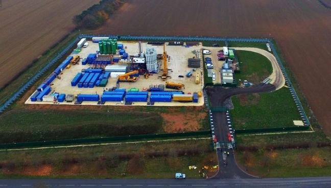 IGas Tinker Lane shale gas site, 16 November 2018. Photo: Eric Walton