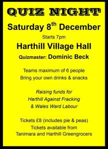 181208 Harthill Against Fracking quiz night