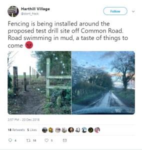 181220 Harthill fencing tweet