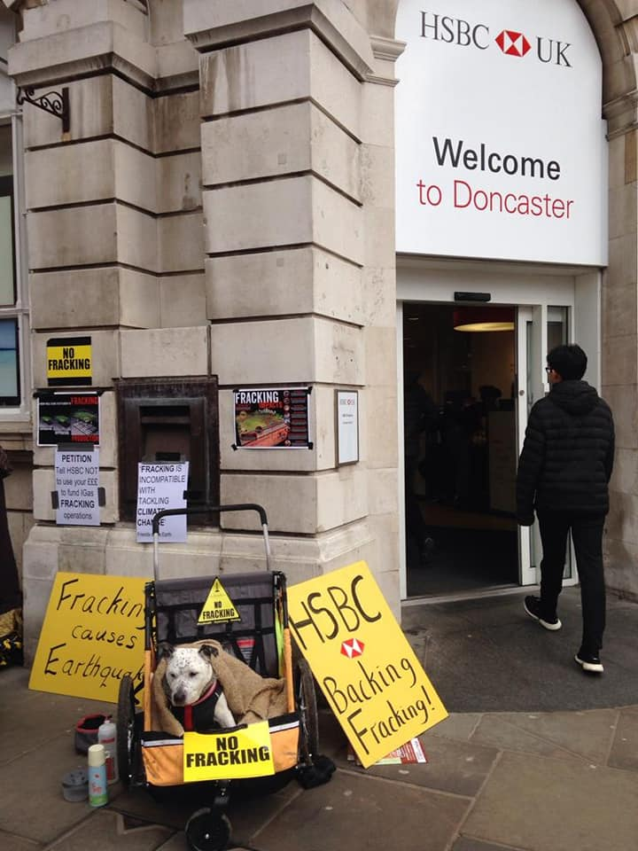Lobby of HSBC in Doncaster. Photo: Kathryn Williamson