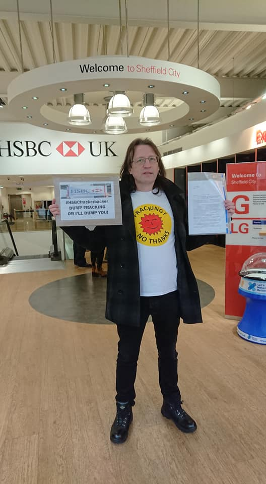 Lobby of HSBC in Sheffield. Photo: Julie Graham