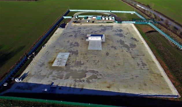 IGas shale gas site at Tinker Lane, 28 January 2019. Photo: Eric Walton