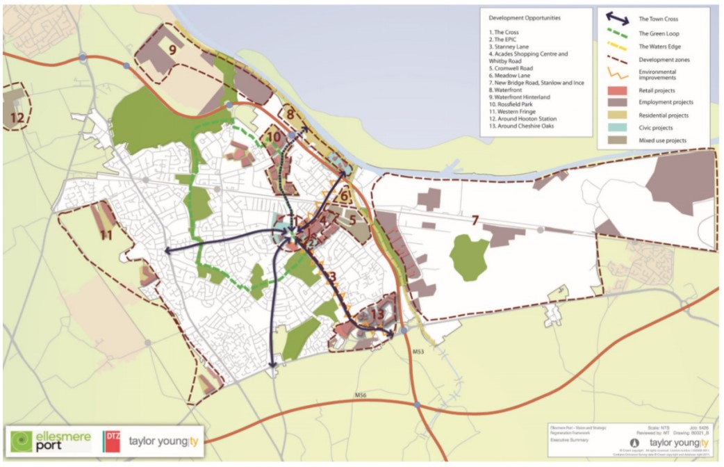 Ellesmere Port vision and strategic regeneration