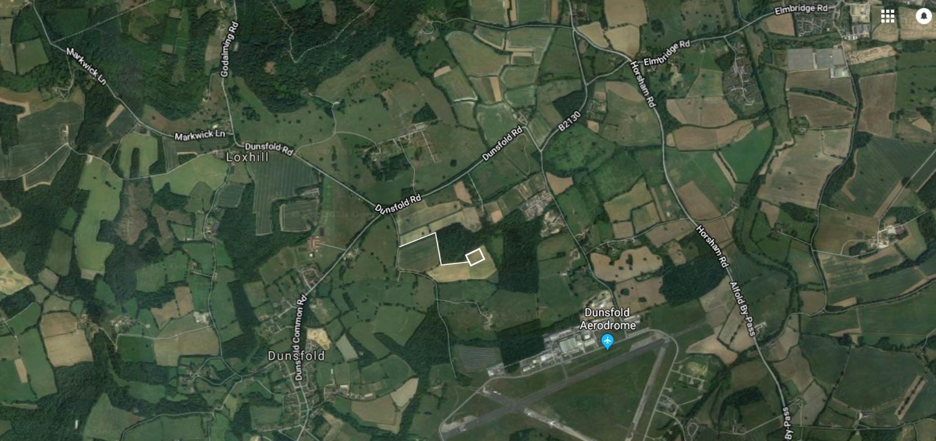 Dunsfold Google Maps small