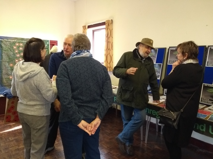 Fracking information coffee morning, Elswick Village Hall, 9 March 2019. Photo: Roseacre Awareness Group