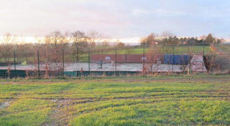 Third Energy's fracking site at Kirby Misperton, North Yorkshire, 10 April 2019. Photo: Hazel Winter