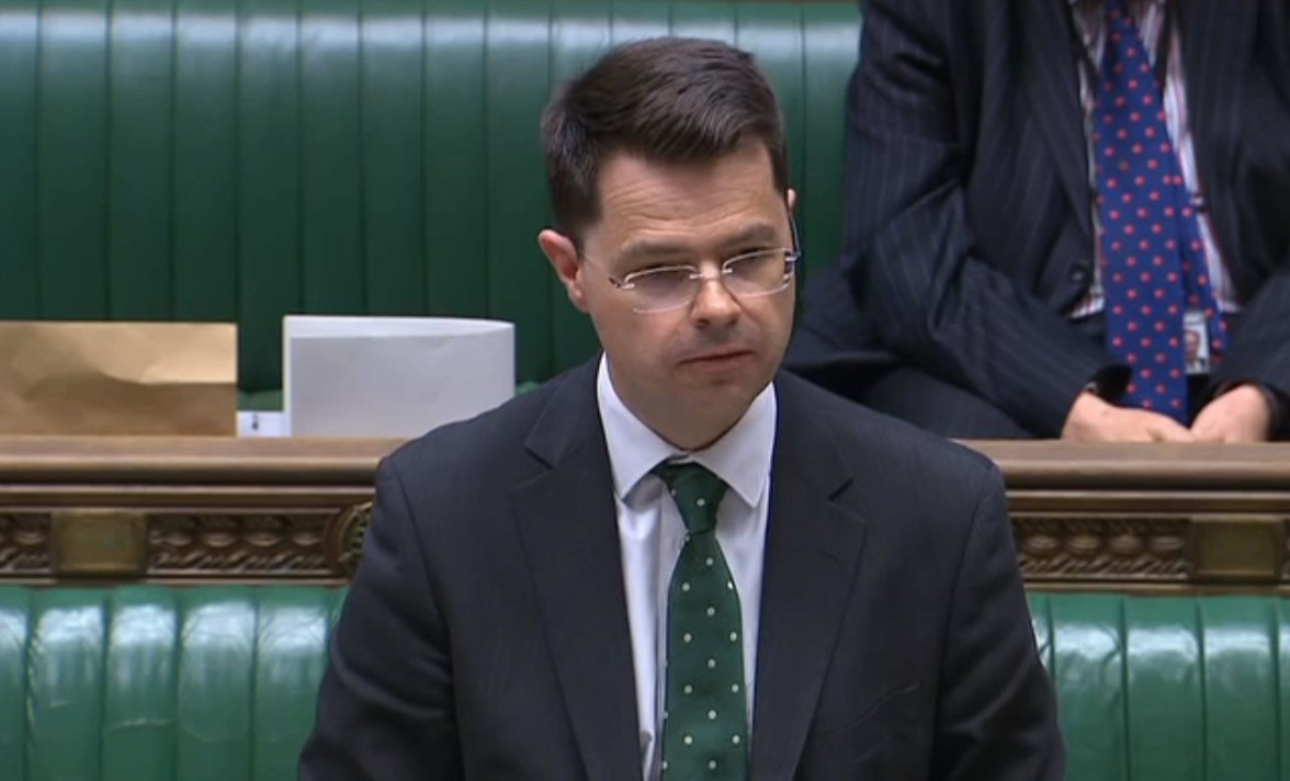 190516 James Brokenshire Parliament TV